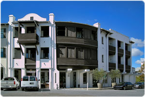 Tabby Lofts condos in Rosemary Beach